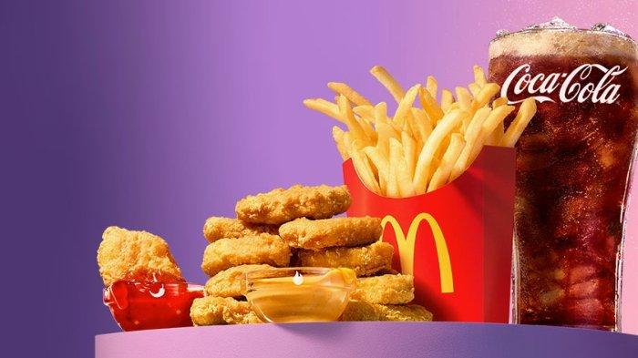 BTS Meal kolaborasi restoran cepat saji McDonald's dengan boy grup BTS.