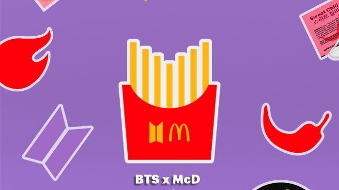 Kolaborasi dengan BTS, McDonald's Rilis BTS Meal dan Merchandise Edisi Terbatas, Apa Isinya?