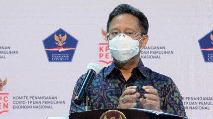 Menteri Kesehatan Budi Gunadi Sadikin saat jumpa pers dengan media asing di Kantor Presiden, Rabu (2/9/2020).
