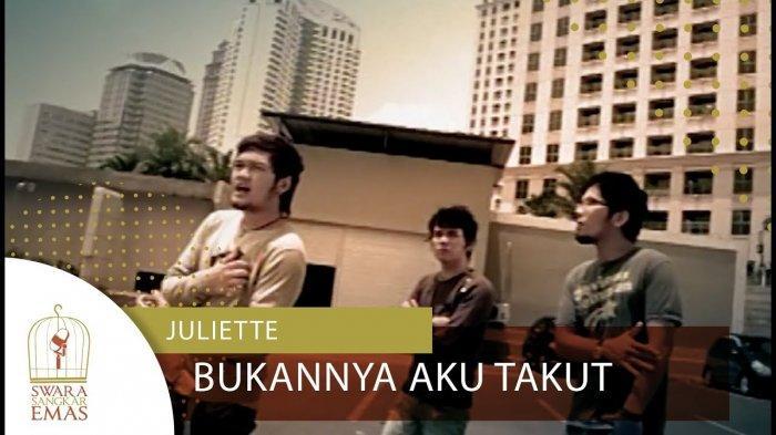 Lirik & Chord Gitar Bukannya Aku Takut - Juliette: Ku Tak Peduli Bila Ku Benar-benar Cinta Mati