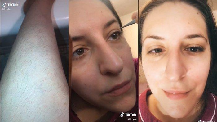 Viral Video TikTok Wanita Gunakan Extension Bulu Mata dari Bulu Kaki, Begini Hasilnya