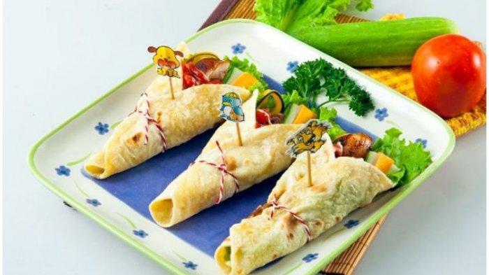 Resep Buka Puasa Praktis Sajian Roti: Chicken Mix Vegetable Kebab dan Roti Goreng Kornet Keju