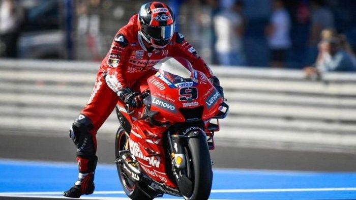 Hasil MotoGP Perancis: Danilo Petrucci dan Alex Marquez Ukir Sejarah Baru, Rossi Alami Nasib Sial