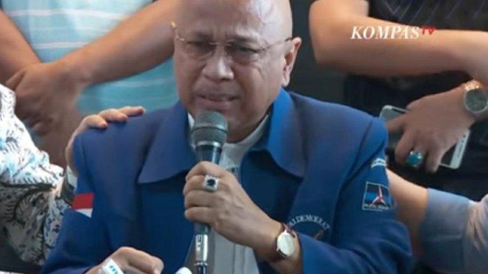 Ungkit Partai Demokrat Tarik Iuran Tiap Bulan, Darmizal Menangis Menyesal Menangkan SBY Tahun 2015