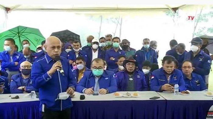 Alasan Demokrat Kubu Moeldoko Gelar Konpres di Hambalang, Darmizal Singgung SBY yang Terpaksa Turun
