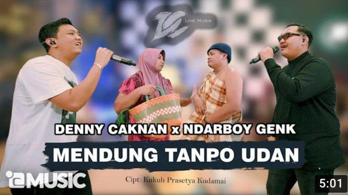Lirik & Chord Mendung Tanpo Udan - Denny Caknan ft Ndarboy Genk: Awak Dewe Tau Nduwe Bayangan