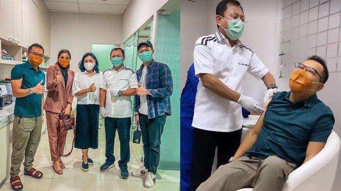 Anang Hermansyah Ketakutan Saat Disuntik Vaksin Nusantara hingga Ucapkan Kata Umpatan, Mengapa?