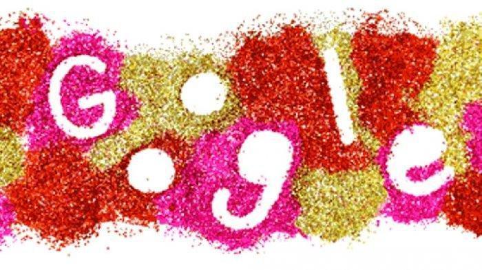 Google Doodle Hari Ini Rayakan Valentine's Day, Penuh Gambar Hati Bertabur Glitter