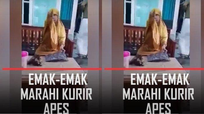 3 Video Emak-emak Ngamuk Viral di Media Sosial, Dua Marah Disuruh Putar Balik, Satu Marahi Kurir