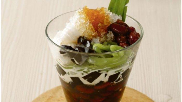 Resep Hidangan Minuman Buka Puasa yang Praktis dan Segar, Es Melon Leci dan Es Kacang Merah Cendol