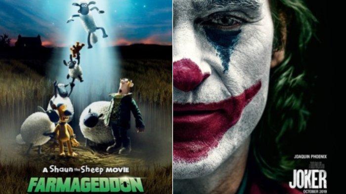 Jadwal Bioskop XXI Ternate di Malam Minggu (28/9/2019), Ada Film Joker, The Informer dan Kartun ini