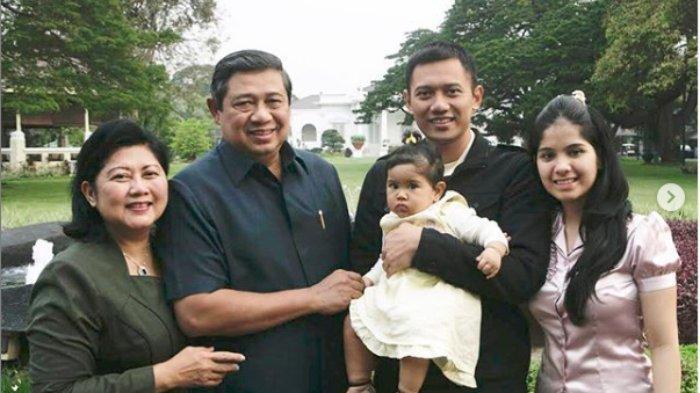 AHY dan Annisa Pohan Kompak Unggah Video Surat Cinta untuk Memo di Hari Ulang Tahun Ani Yudhoyono