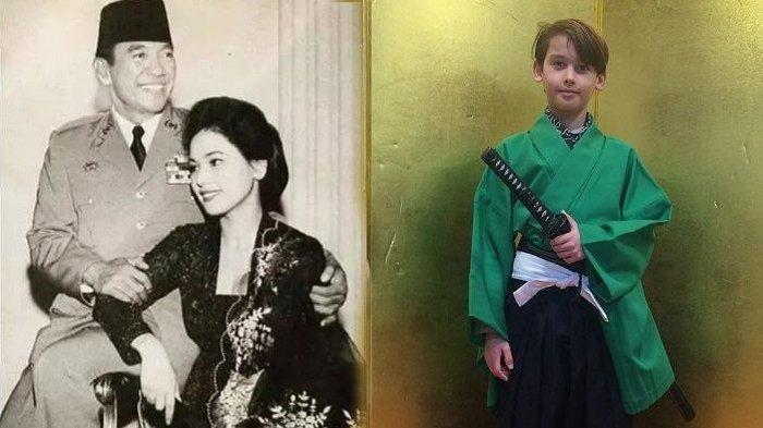 Intip Potret Cucu Soekarno dan Ratna Sari Dewi yang Kini Jadi Remaja Bule, Parasnya Curi Perhatian