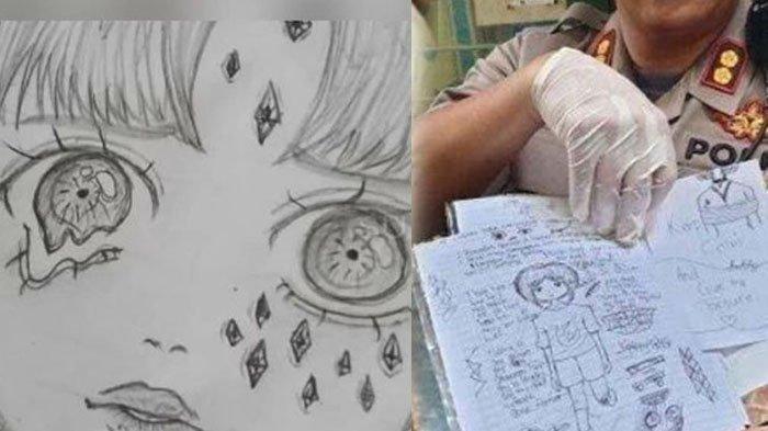 Ternyata Sesuai Kisah Nyata, Siswi SMP Pembunuh Bocah 5 Tahun Ungkap Makna Gambar Gadis Terikat