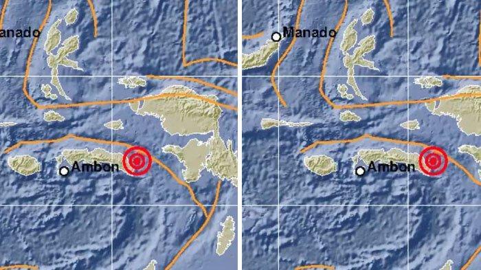 UPDATE Pasca Gempa Maluku, BNPB Lakukan Monitoring: Permukiman Rusak hingga Air Laut Terlihat Surut