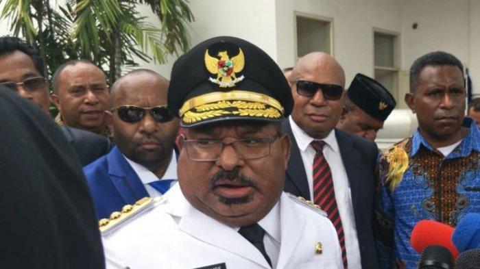 Profil SIngkat dan Harta Kekayaan Lukas Enembe, Gubernur Papua yang Dideportasi dari Papua Nugini