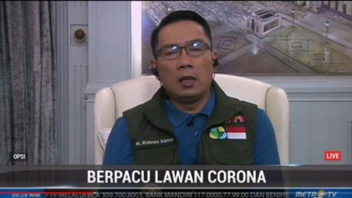 Beberkan Data Hasil Evaluasi Penerapan PSBB di Jawa Barat, Ridwan Kamil: Sangat Ilmiah dan Berhasil
