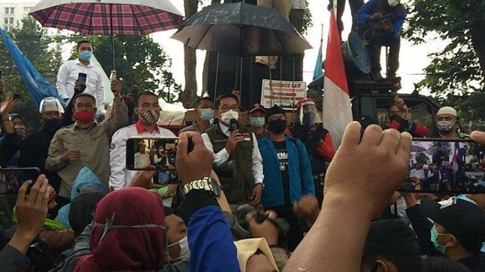 Polisi: Data Terbaru Ditemukan Ada 34 dan 13 Pendemo di Bandung Reaktif Covid-19