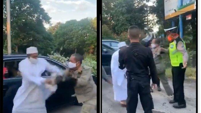 Perseteruan Habib Umar Assegaf Vs Petugas Satpol PP Berujung Damai, Berpelukan & Saling Bermaafan