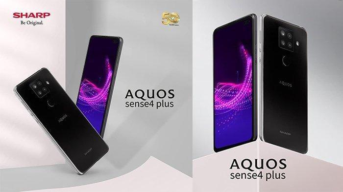 Rilis di Indonesia, Ini Harga dan Spesifikasi HP Sharp AQUOS Sense 4 Plus, Dibekali RAM 8GB