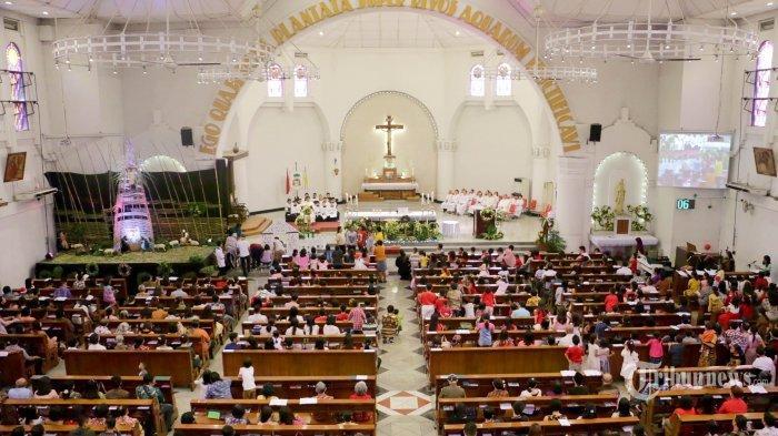 Jadwal Misa Natal 24-25 Desember 2020, Ini Link Live Streaming Gereja Katedral Berbagai Daerah