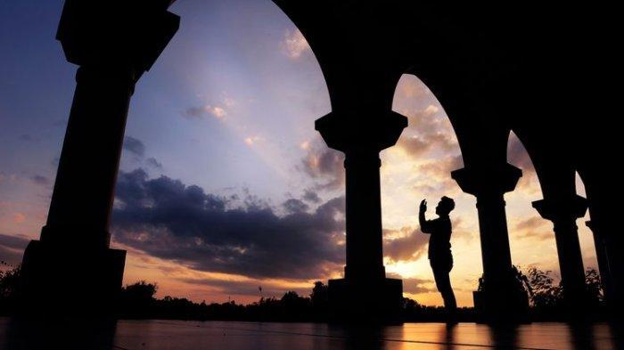Ilustrasi ibadah selama bulan Ramadhan.
