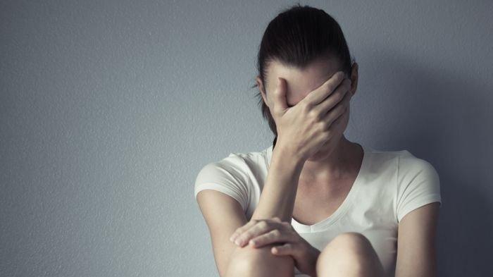 Ilustrasi orang yang sedang mengalami stres.