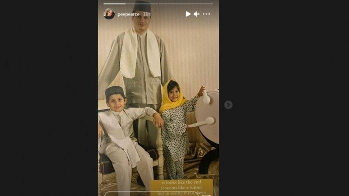 Instagram Story Pevita Pearch, Kehilangan Sosok Ayah Tercinta