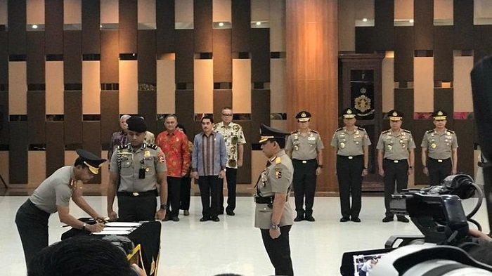 11 Pati Polri Naik Pangkat, Brigjen Pol Muhammad Arief Ramdhani Jabat Kepala BNNP Maluku Utara