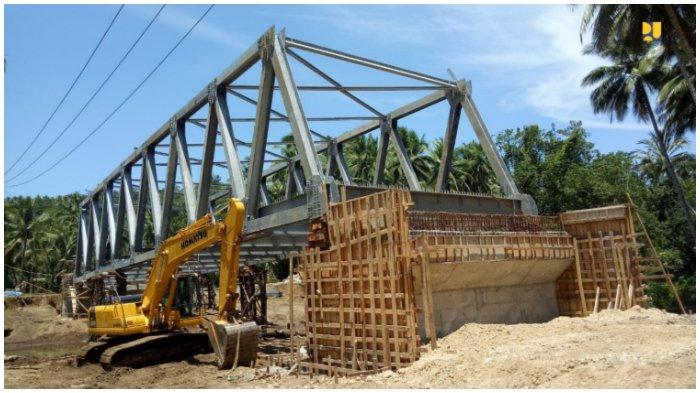 Telan Dana Rp 273,86 M, PUPR Kembali Bangun 6 Jembatan & Jalan Lingkar Morotai Sepanjang 201,89 Km
