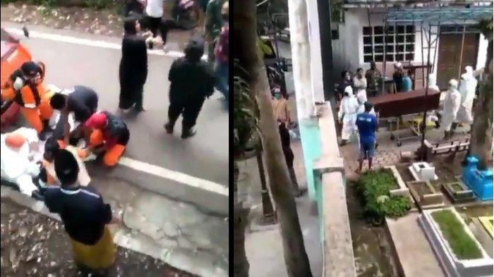 Viral Video Jenazah Covid-19 Tertukar di Malang, Petugas: Itu Manusiawi, Teman-teman Kecapekan