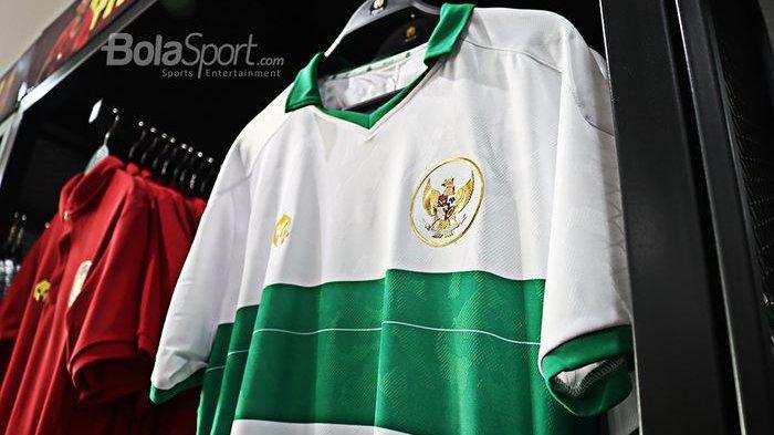 Jersey Tandang Timnas Indonesia Resmi Dirilis Hari Ini