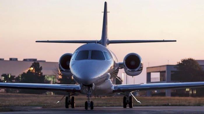 Initp Foto Pesawat Jet Pribadi Pangeran Harry dan Megan Markle yang Punya Fasilitas Super Mewah Ini