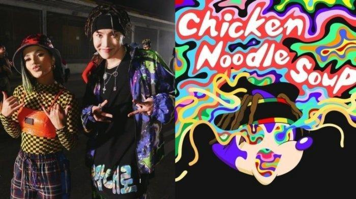 J-Hope BTS Feat Becky G Rilis Lagu Chicken Noodle Soup, #CNSChallenge Trending di Twitter