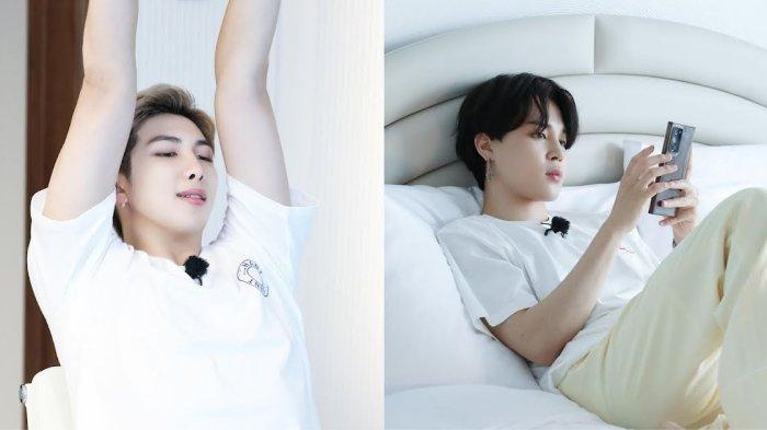 Member BTS Jimin dan RM