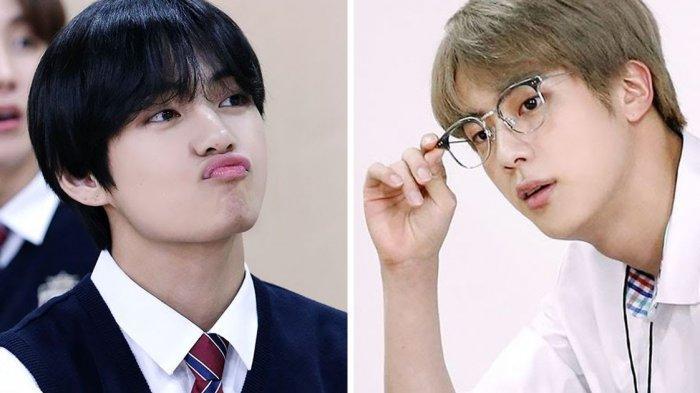 Jin dan V BTS Mengaku Hampir Menangis Usai Tampil Perdana saat Debut, Apa Penyebabnya?