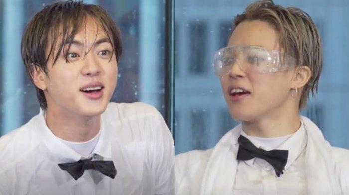 Member BTS Jin dan Jimin.