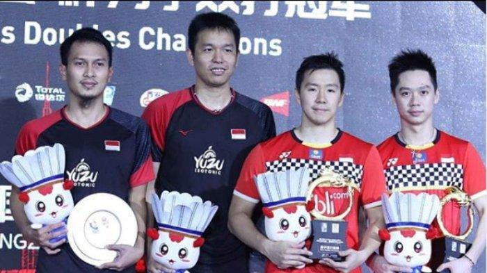 Marcus/Kevin Juara China Open 2019, Presiden Jokowi: Selamat kepada Duo Minions!