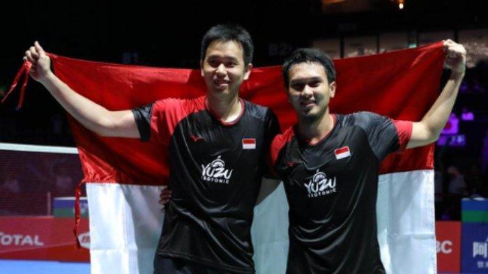 Ahsan/Hendra Raih Gelar Juara Dunia 2019, Jokowi: Selamat untuk The Daddies