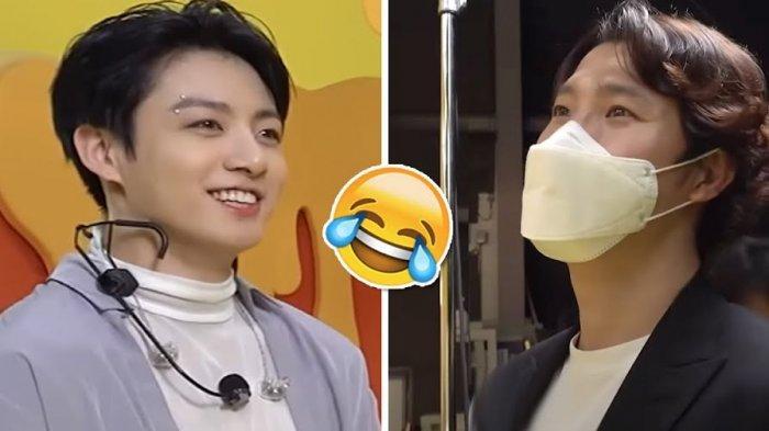 Sambil Bercanda, Jungkook BTS Beri Pujian Lucu untuk Manajernya: Baiknya Kamu jadi Manajer Terus Aja