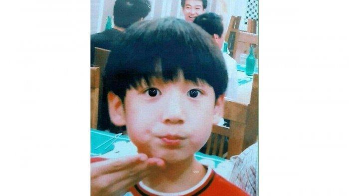 Foto masa kecil Jungkook BTS.