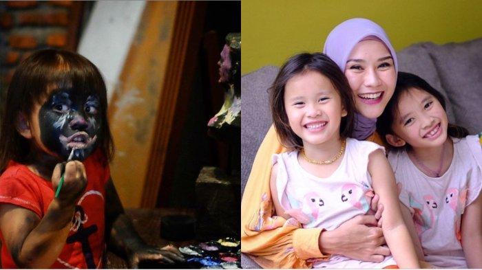 Foto-foto kocak Kala Madali, putri pasangan Hanung Bramantyo dan Zaskia Adya Mecca