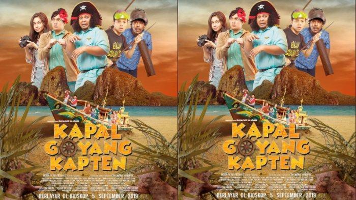 Tayang 5 September 2019, Intip Official Trailer Film Kapal Goyang Kapten yang Syuting di Maluku