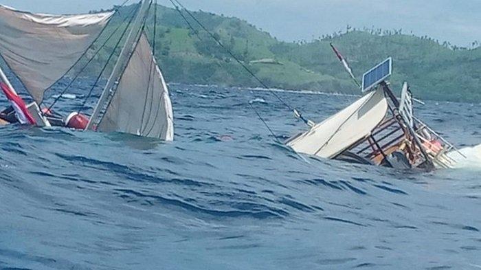 Kapal Nelayan Tenggelam di Laut Selat Sunda, 10 Orang Dikabarkan Hilang