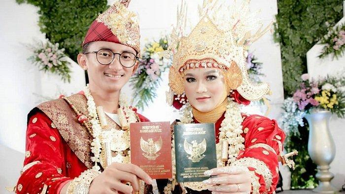 Berawal dari DM 'Assalamualaikum', Muda-mudi Ini Menikah Setelah 2 Bulan Perkenalan, Kisahnya Viral