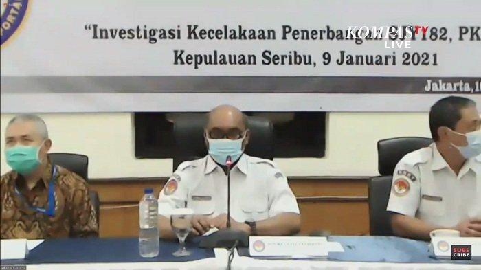 Laporan Awal KNKT Sriwijaya Air: FDR Berhenti Catat Data 20 Detik Setelah Autothrottle Tidak Aktif