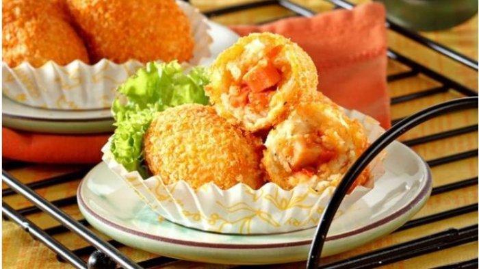 Resep Buka Puasa Praktis Sajian Kroket Lezat: Kroket Ayam Jamur dan Kroket Singkong Sosis Pedas