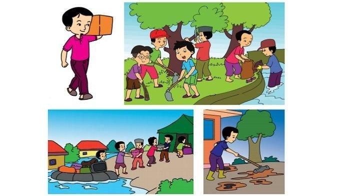 Kunci Jawaban Halaman 204, 205, 206, 207, 208, 209 dan 210 Tema 8 Kelas 2 SD Buku Tematik Subtema 4