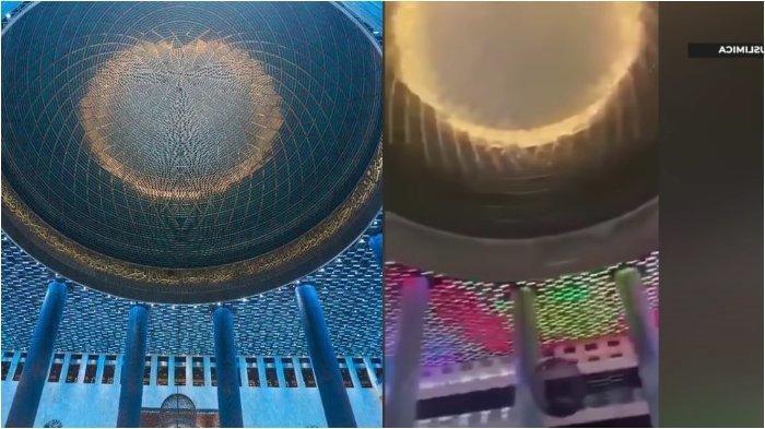 Viral Lampu Masjid Istiqlal Warna-warni hingga Tuai Kritikan, Ternyata Ini Maksud di Baliknya