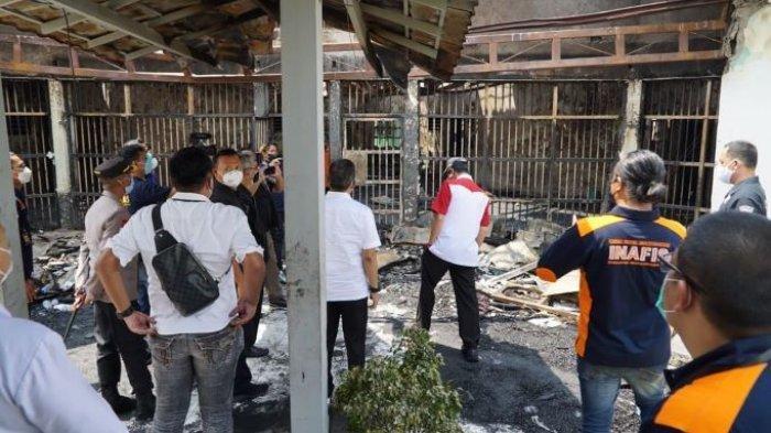 Kemenkumham Beri Santunan Rp30 Juta dan Bantu Pemulasaran hingga Pemakaman 41 Napi Lapas Tangerang